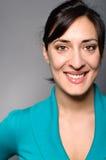Latina Woman Smiling Portrait Stock Photos