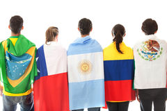 Latinamerican group Royalty Free Stock Photography