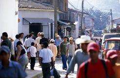 LATINAMERIKA HONDURAS COPAN Arkivfoto