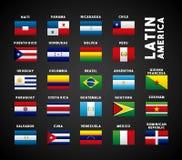 Latinamerikaländer Royaltyfri Fotografi