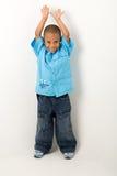 latinamerikan för 6 pojke Royaltyfria Bilder