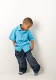 latinamerikan för 7 pojke royaltyfri foto