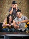 Latinamerikansk familj Fotografering för Bildbyråer