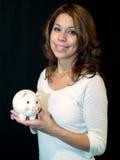 latinamerikansk lady Arkivfoto