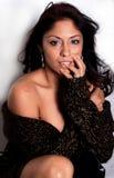 latinamerikansk sexig kvinna arkivfoto