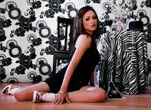 latinamerikansk sexig kvinna Royaltyfria Bilder