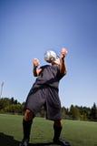 latinamerikansk spelarefotboll för fotboll Royaltyfri Bild