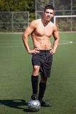 latinamerikansk spelarefotboll för fotboll royaltyfri fotografi