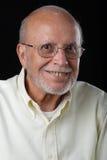 latinamerikansk ståendepensionär för medborgare arkivbild