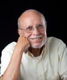 latinamerikansk ståendepensionär för medborgare royaltyfria bilder