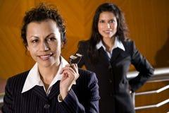 latinamerikanska affärskvinnor Arkivfoto