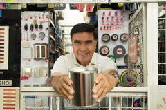 Latinamerikanskt maskinvarulager arkivfoto