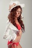 latinamerikanskt model sexigt Royaltyfri Foto