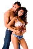 latino пар сексуальный Стоковая Фотография