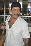 Latino actor Danny Trejo is seen at LAX Royalty Free Stock Photos