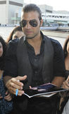 Latino actor/singer JenCarlos Canela at LAX Stock Image