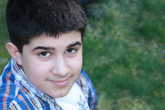 Latino amigável adolescente Imagens de Stock