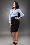 Latino businesswoman Stock Images