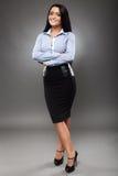 Latino businesswoman Stock Images