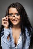 Latino businesswoman Royalty Free Stock Photo