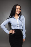Latino businesswoman Stock Photo