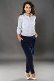 Latino businesswoman Royalty Free Stock Photos