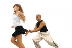 Latino dance instructor Royalty Free Stock Image