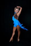 Latino dancer Royalty Free Stock Image