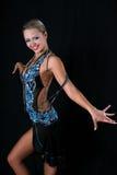 Latino dancer Royalty Free Stock Photo