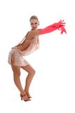 Latino dancer Stock Image