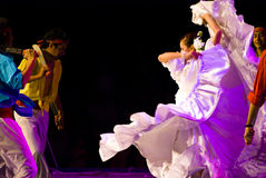 Latino dancers Royalty Free Stock Images