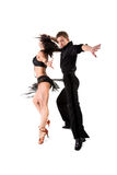 Latino dancers Royalty Free Stock Photo