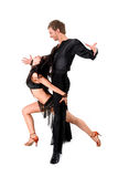Latino dancers in action Stock Photography