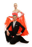 Latino dancers Stock Images
