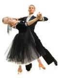 Latino dancers Royalty Free Stock Images