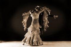 Latino dancers in ballroom Royalty Free Stock Photography