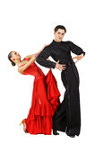 Latino dancers posing Stock Images