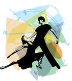 Latino Dancing couple Royalty Free Stock Photography