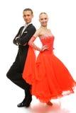 Latino dansers stock foto's