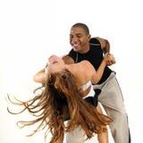 Latino dansinstructeur royalty-vrije stock fotografie