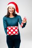Latino de la diversión de la Navidad Foto de archivo libre de regalías