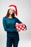 Latino do divertimento do Natal Fotografia de Stock Royalty Free