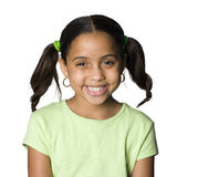 Latino girl smiling Royalty Free Stock Photos