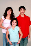 Latino Jonge geitjes stock fotografie