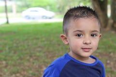 Latino kind met exemplaarruimte stock afbeeldingen