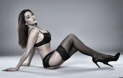 Latino lingerie model Stock Image