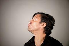 Latino male pouting Stock Image