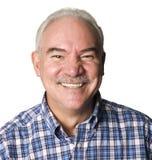 Latino man smiling. Portrait of an Latino man smiling Stock Image