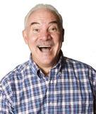 Latino man surprised Stock Photography