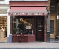 Latino spagnolo tradizionale di Quartier del ristorante Fotografia Stock